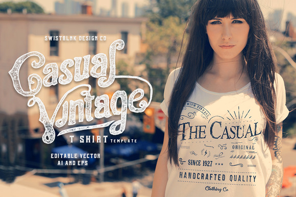Casual Vintage T-Shirt