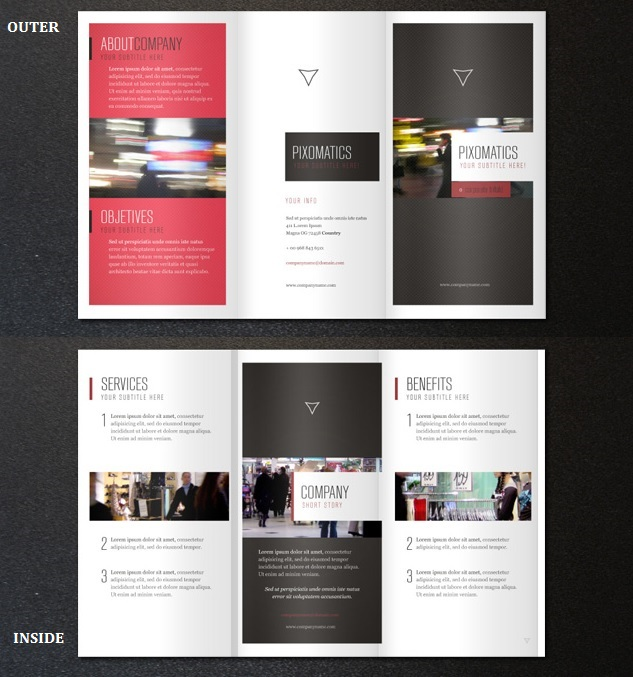 Doc842458 Tri Fold Brochure Templates for Word tri fold – Free Tri Fold Brochure Templates Word