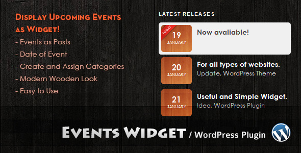 Events Widget