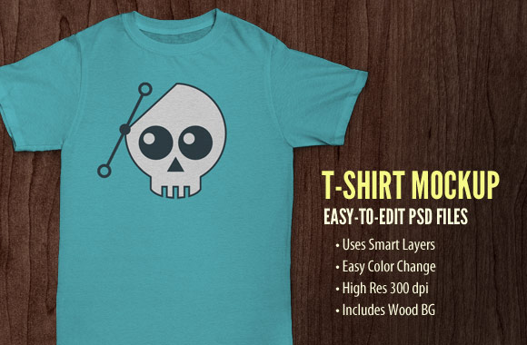 Free T-Shirt Mockup PSD Files
