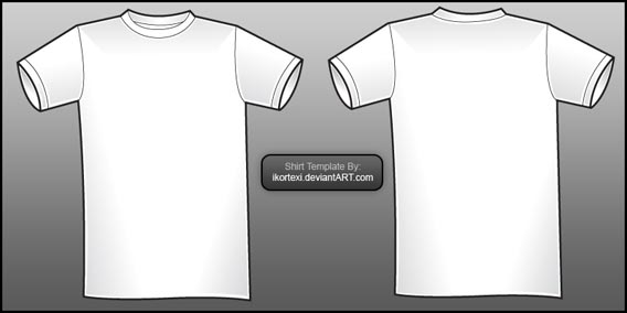 Download Shirt Template