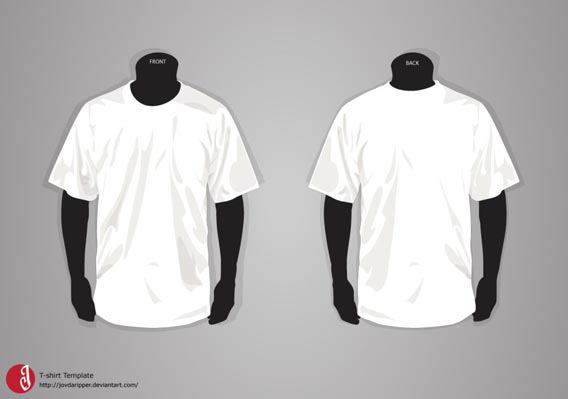 Download free T-shirt Template UPDATE