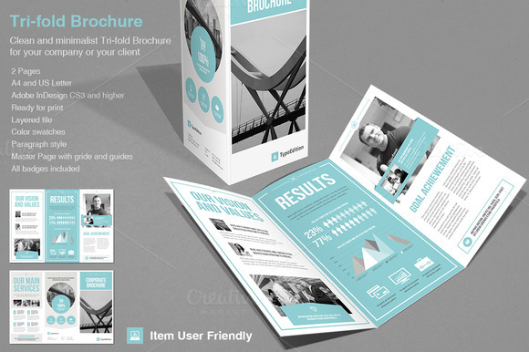 50 useful tri fold brochure templates design blog for Free indesign tri fold brochure template