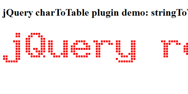 chartotable animated jquery 20 jQuery Table Plugins