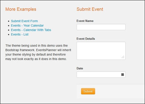 events-planner
