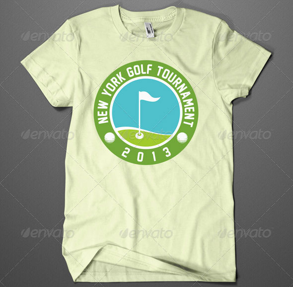 gold-tournament-tshirt-design