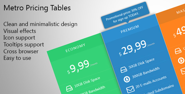metro-pricing-table