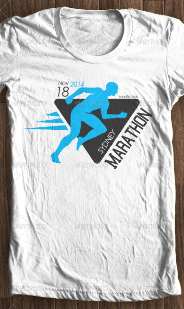 run-marathon-tshirt