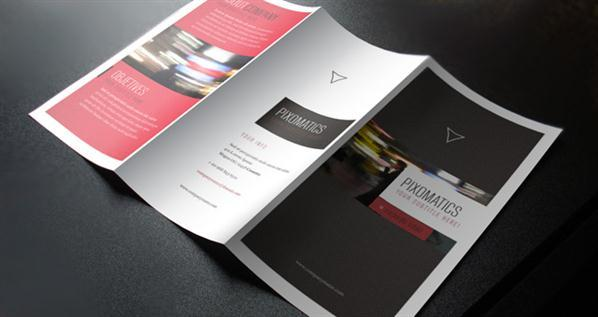 TriFold Corporate Brochure PSD Template
