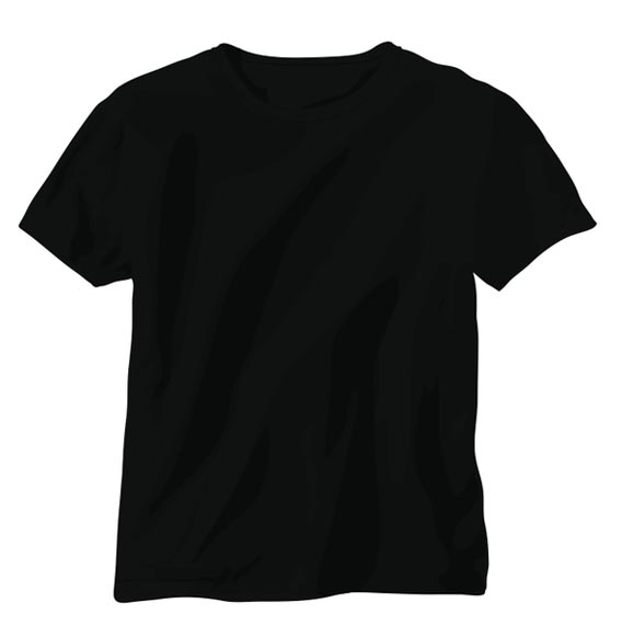 Download Black Vector T-Shirt