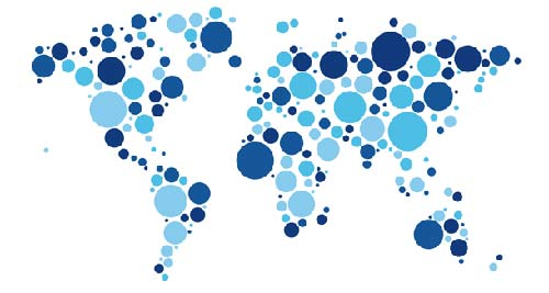 25 free world map vector psd design blog dotted world map gumiabroncs Image collections
