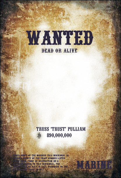 7 free wanted poster templates psd design blog for Free wanted poster template