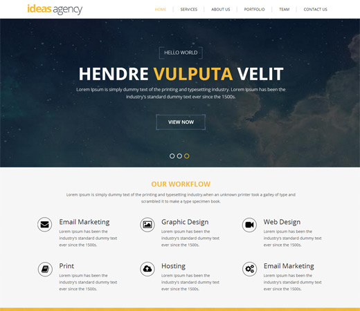 Bootstrap Responsive web template