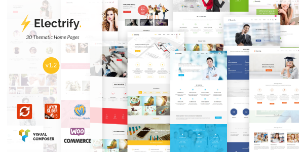 Electrify Versatile Multipurpose WordPress Theme