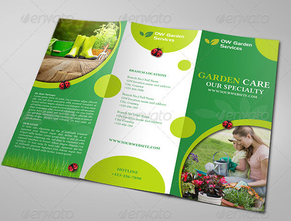 Useful TriFold Brochure Templates  Design Blog