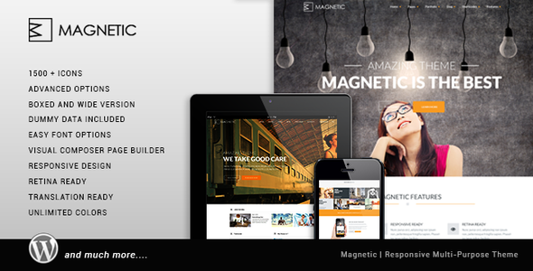 Magnetic Creative Responsive Multi-Purpose Them