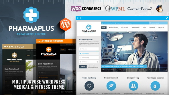 PharmaPlus Medical & Fitness Theme
