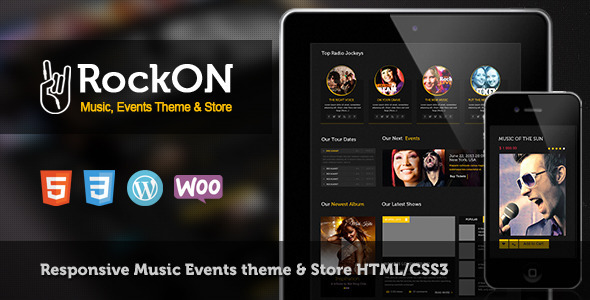 RockOn Multipurpose Music WP Theme