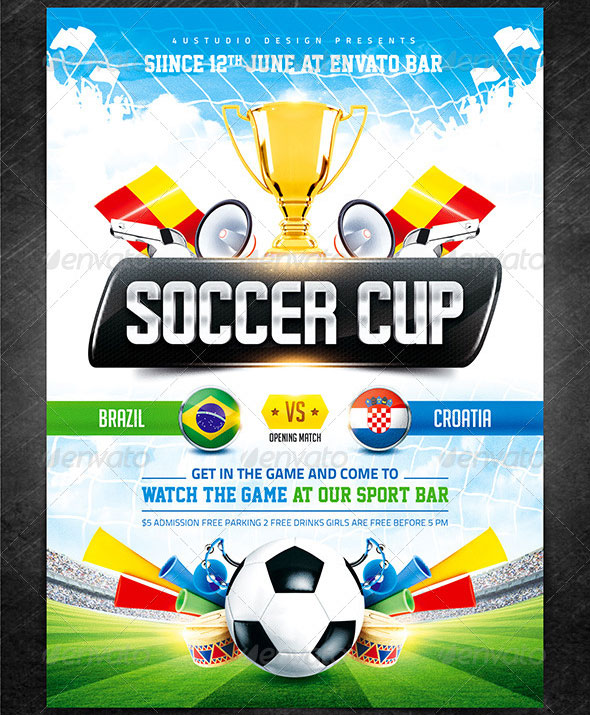 Soccer-Cup-2014-poster