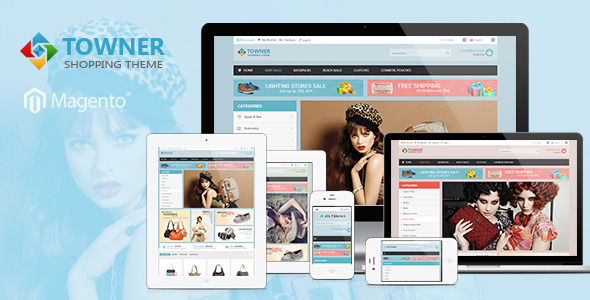Ves Towner Responsive Magento Theme