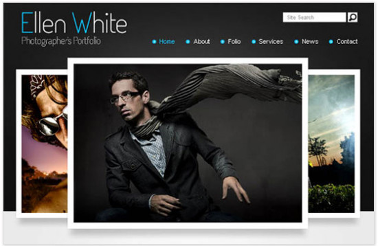 beautifulhtml17 30+ Free HTML5 and CSS3 Templates