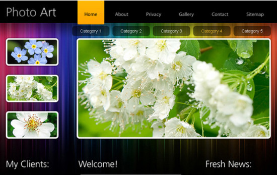 beautifulhtml25 30+ Free HTML5 and CSS3 Templates