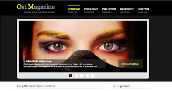 beautifulhtml27 30+ Free HTML5 and CSS3 Templates