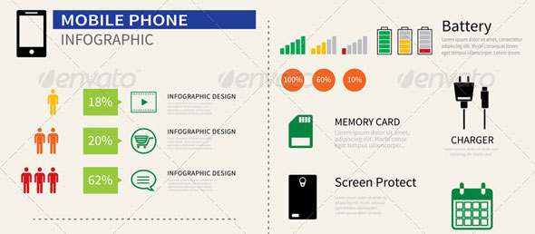 Mobile-Smart-Phone-Infographic