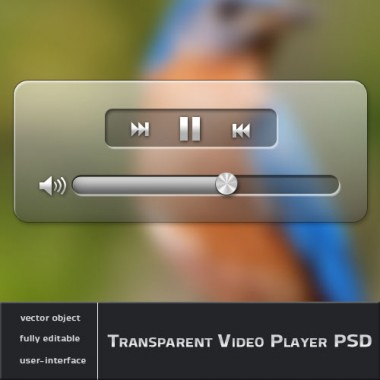 Transparent Video Player