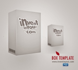 Box Template PSD File