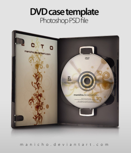 DVD CaseArt PSD file