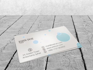 FREE BUSINESS CARD PSD MOCK-UP