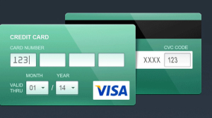 Free Credit Card PSD-Flat and Contour