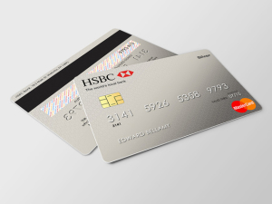 HSBC Credit Card Mockup