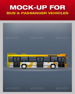 MOCK-UP FOR BUS & PASSANGER VEHICLES