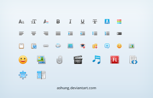 Online Editor Icons
