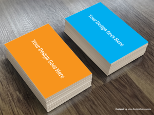 Realistic Business Card Mockup Template Free Download