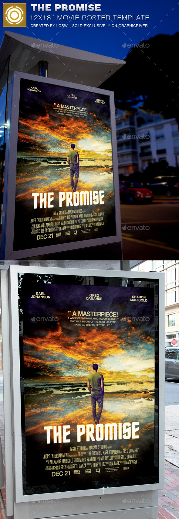 Font used for movie posters