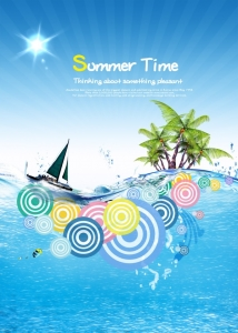 summer-time-posters-psd-design-template
