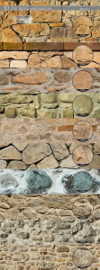 10 Old stone Wall Textures