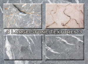 4 Large Stone Textures 3