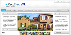 Best Real Estate Joomla Template for Free