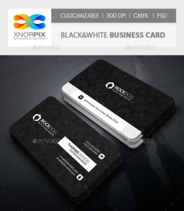Black&White Business Card