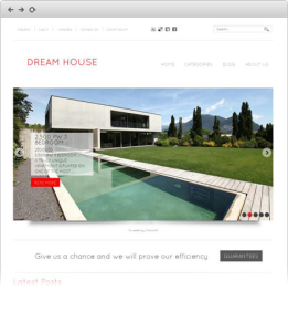 Dream House - Joomla Real Estate Template