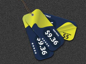 Free Vector Price Tags BY creativology
