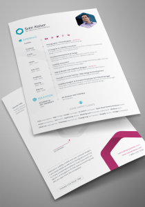 Free Vita : Resume (InDesign Template)