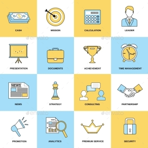 Marketing Icons Set 18