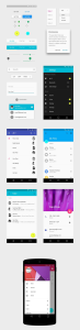 Mobile & UI- Android L 5.0 UI Kit