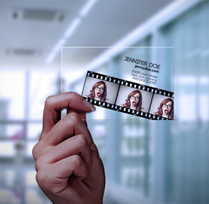 Photo and Film Card Transparent
