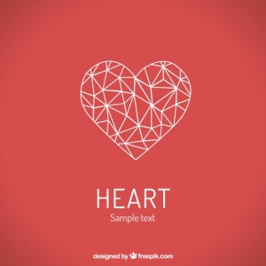 Polygonal heart